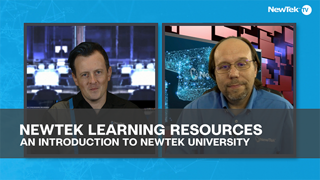 NewTek Learning Resources