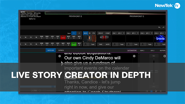 Live Story Creator In Depth