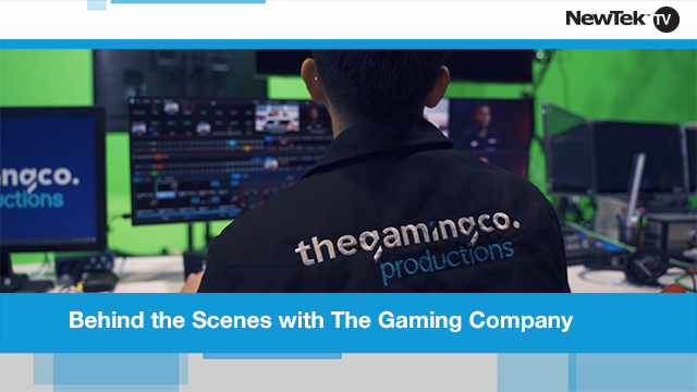 Behind the Scenes with The Gaming Company