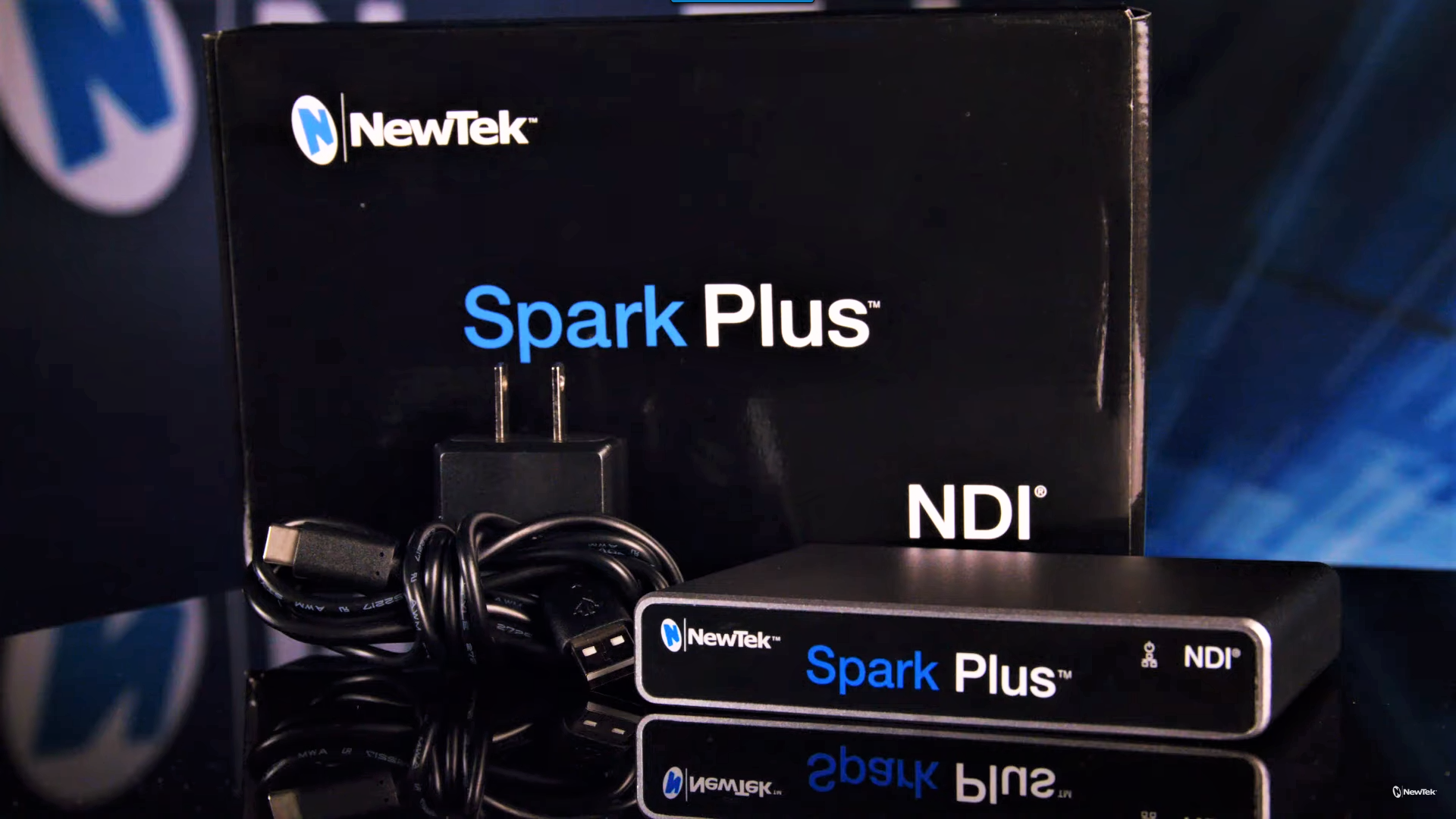 NewTek Spark<sup>™</sup> Plus Kit