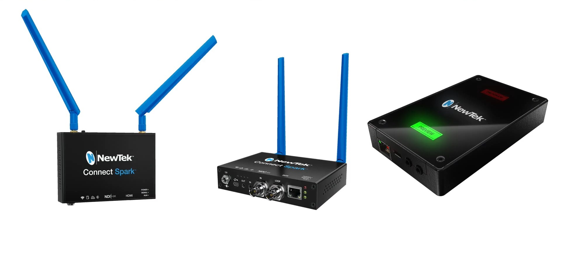 NewTek Connect Spark<sup>&trade;</sup> Product Family
