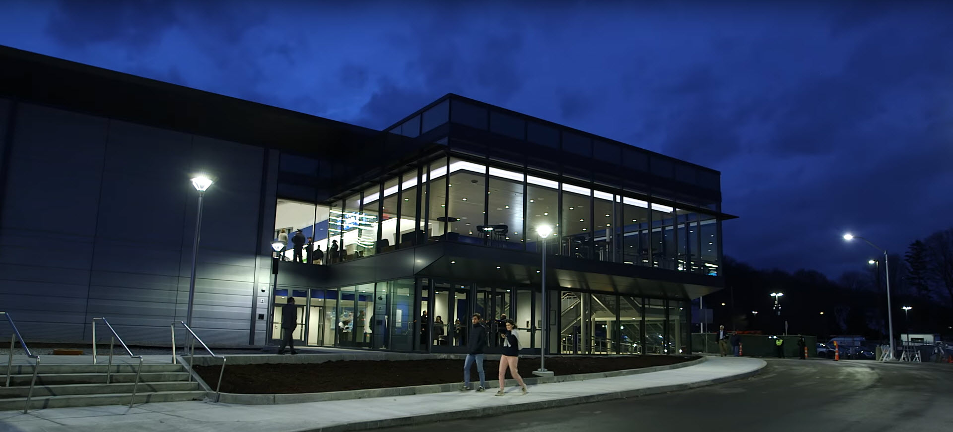 Bentley Arena exterior