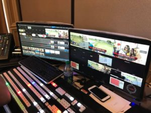 TriCaster TC1 control room
