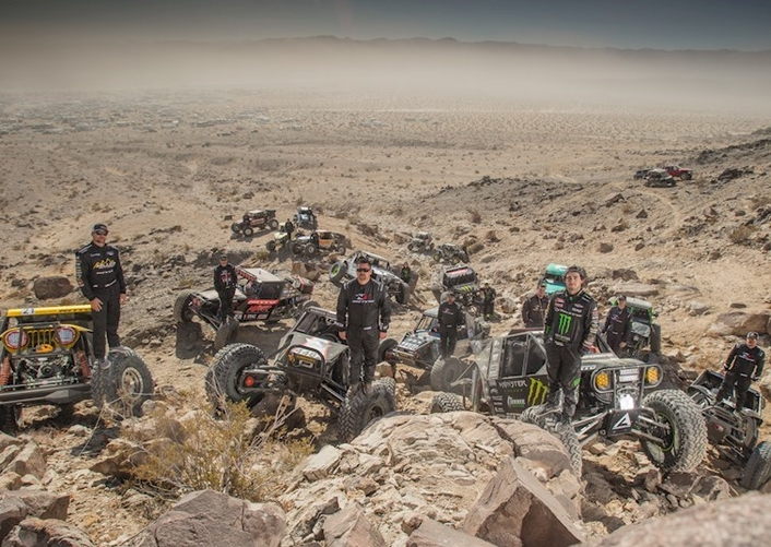 Racing Team at King of Hammers 2018