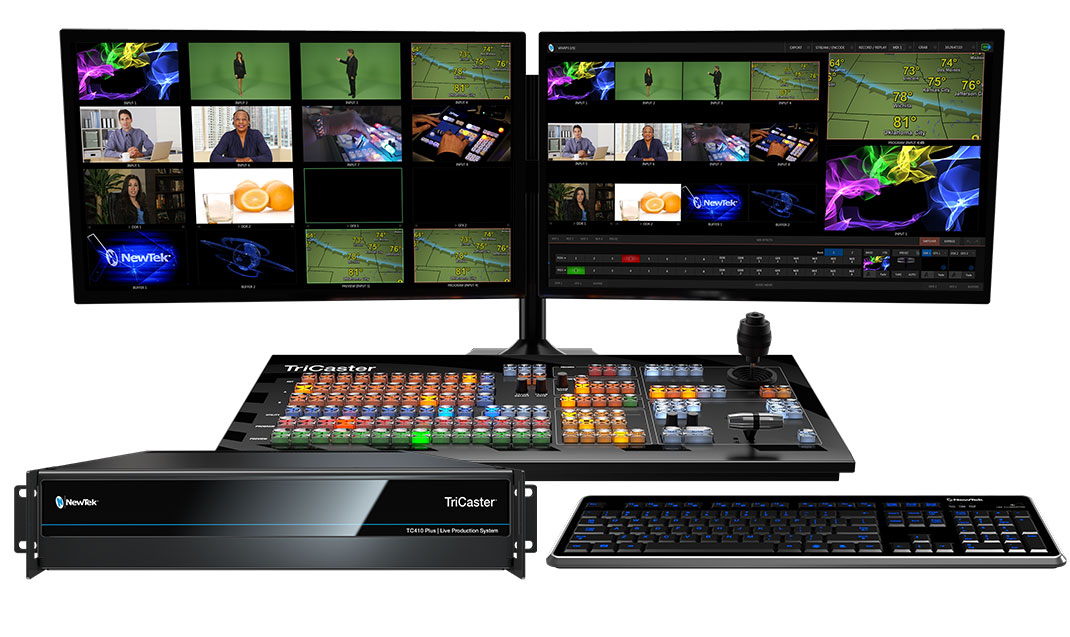 TriCaster 410 Plus 8-Input HD Live Production System