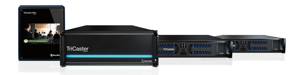 TriCaster Professional Line Product Family, 8000, 460, 410, Mini