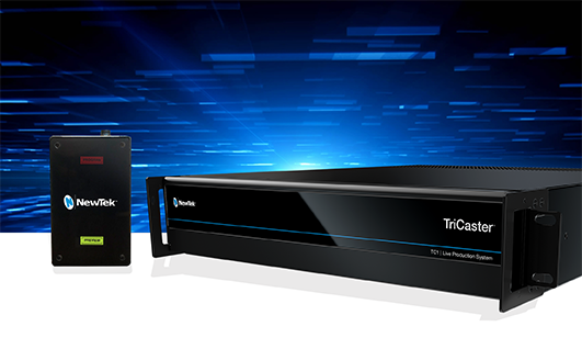 NewTek Connect Spark Pro 4Kp60 Converter with TriCaster TC1