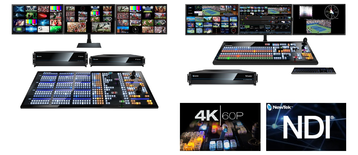 NewTek IP Series and TriCaster® TC1 Free Update