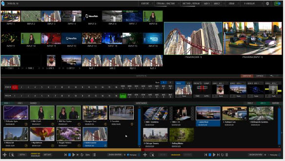 TriCaster Rev 7 Adaptive Multiview in UI