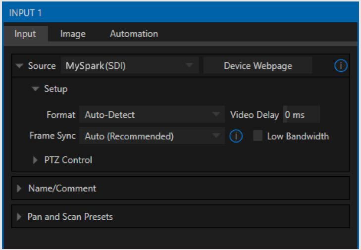 TriCaster Rev 7 Reorganized controls so many more tasks can be done in one panel
