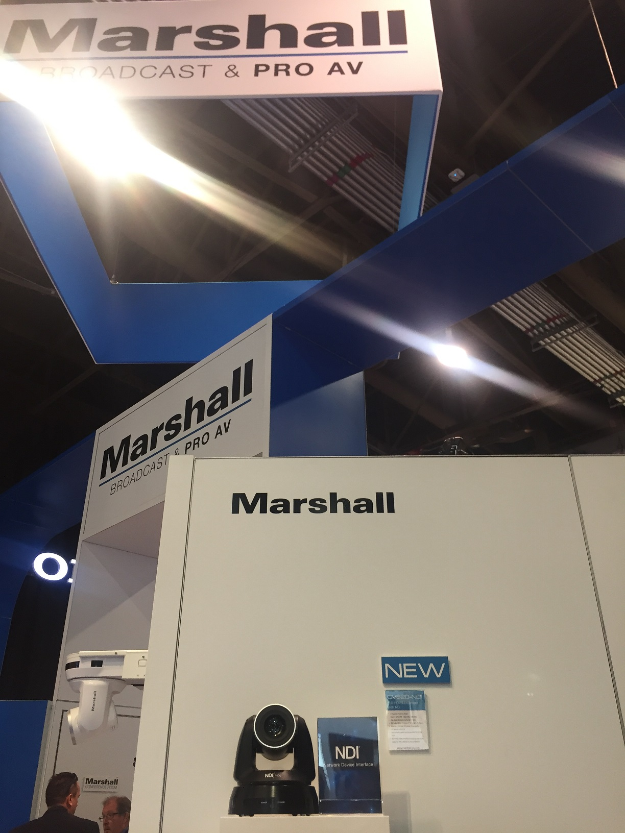 Marshall booth at InfoComm 2018