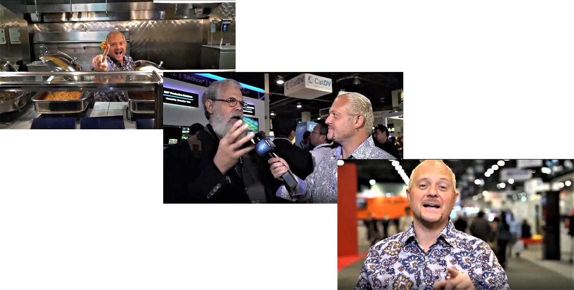 Ryan Salazar and Tim Jenison on NABShow Live 2018