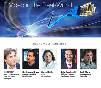 NewTek announces special ip video webcast
