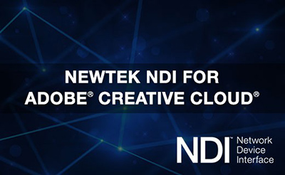 NDI für Adobe Creative Cloud