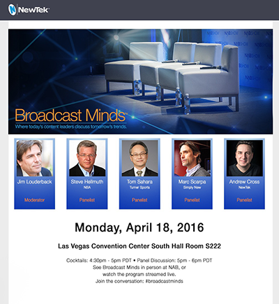 Broadcast Minds 2016