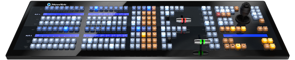 NewTek IP Series 2-Stripe-Bedienpanel
