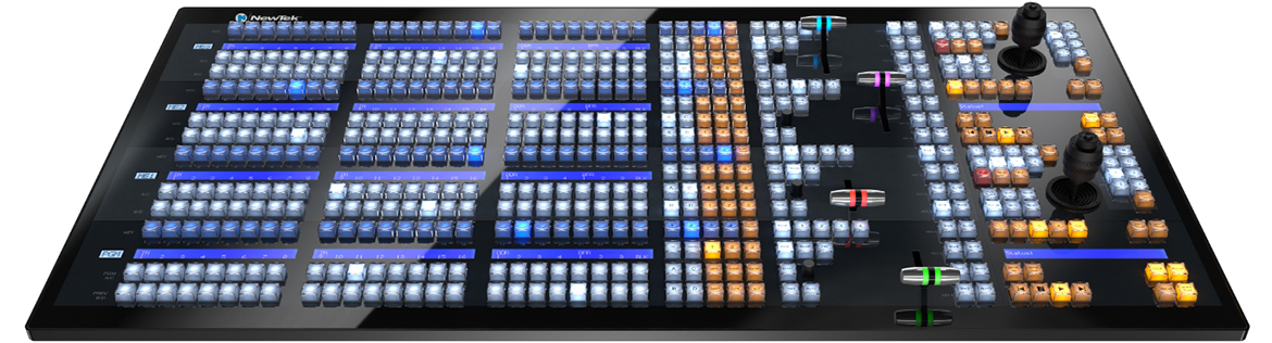 NewTek IP Series – 4-Stripe-Bedienpanel