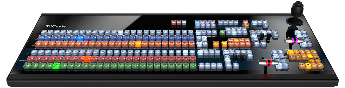 Panel de control TC1LP de NewTek