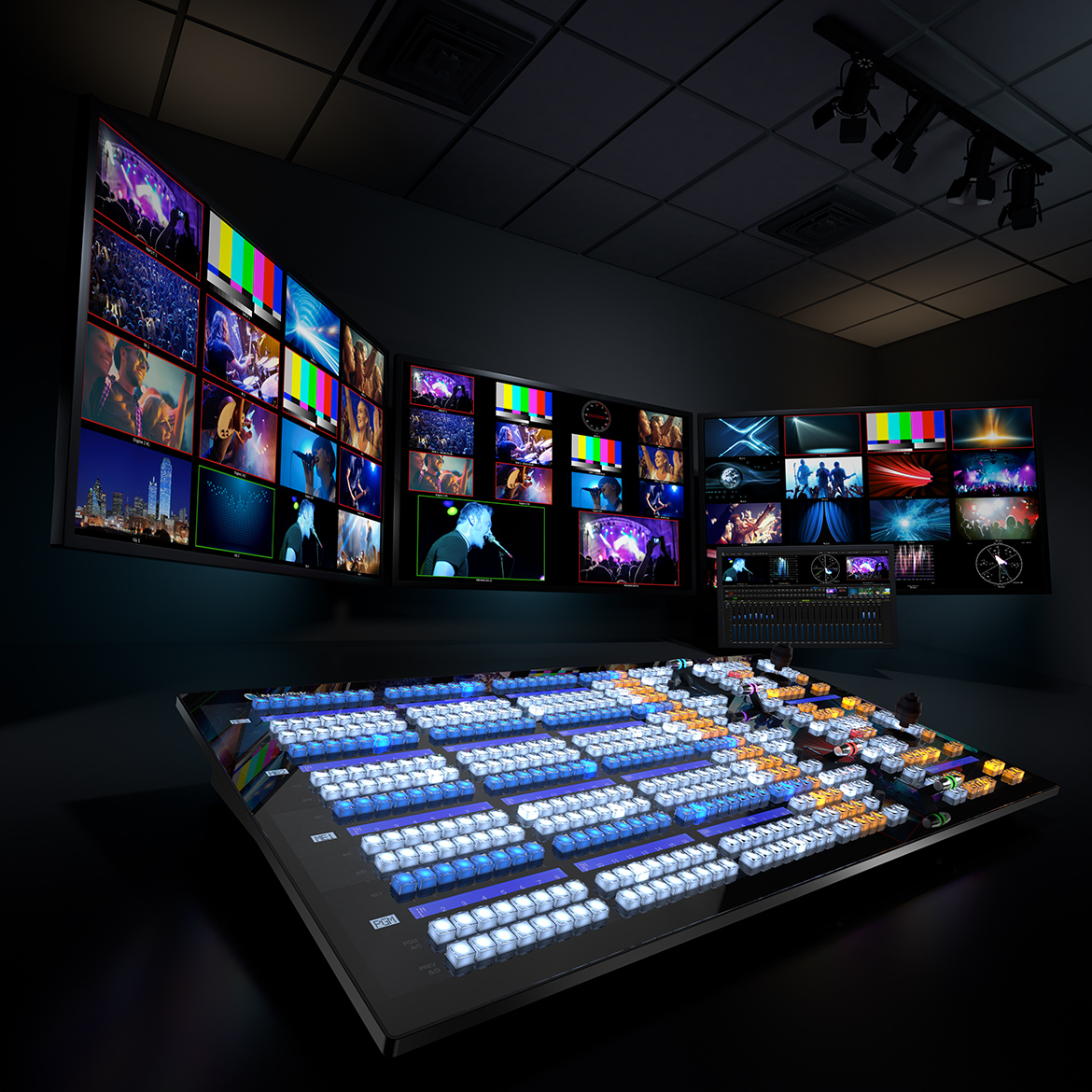IP Series – Video Mix Engine | NewTek