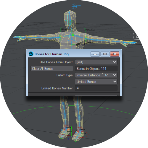 Bone System Improved For Games | LightWave 3D