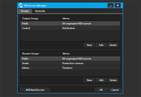 NDI Access Manager