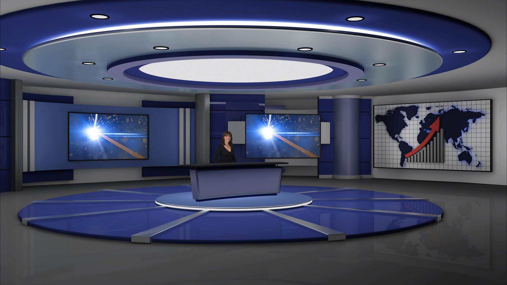 Room Design Template Software Virtual Set Editor Newtek