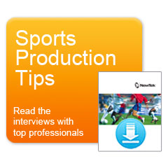 Sports Production Tips