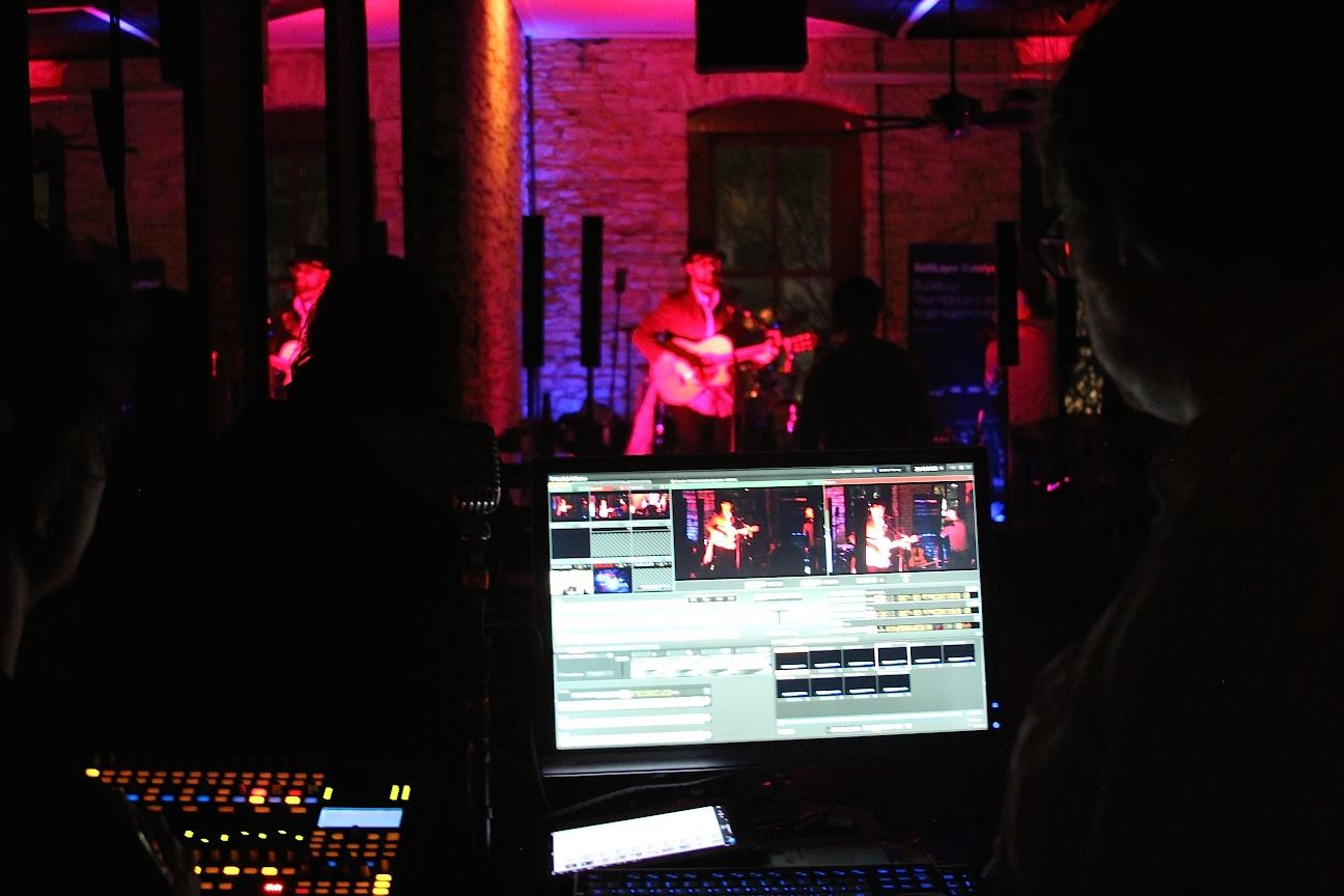 In addition to those used by SXSW itself, other TriCasters are busy during the festival. Curse Mackey and Delve Inn host The Spontaneous Speakeasy during SXSW, which live streams performances using a TriCaster for the length of the festival.