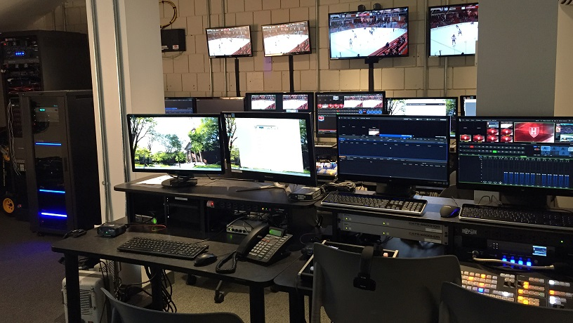 Harvard Athletics Centralizes Control Room For