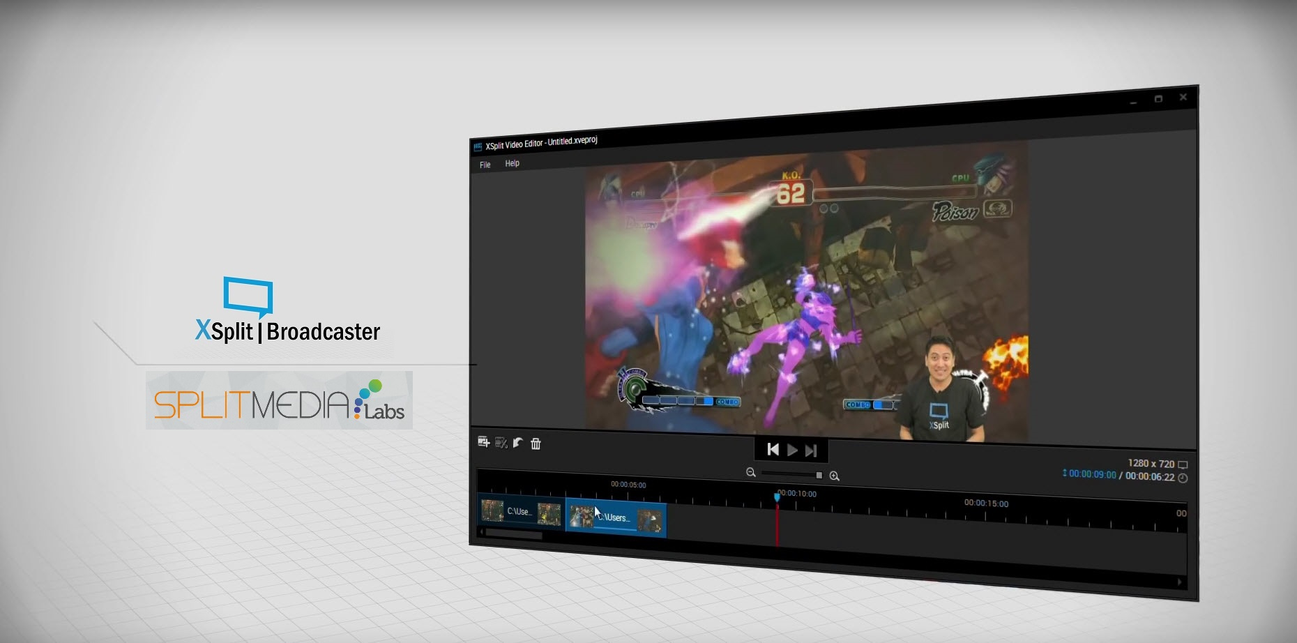 XSplit Broadcaster Adopts NewTek NDI® for IP Production Workflow