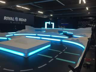 VW Rival Road's RC racetrack.