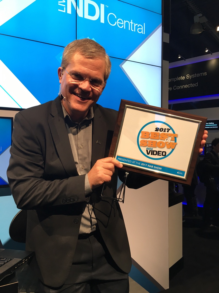 NewTek wins Best of Show Award at NAB