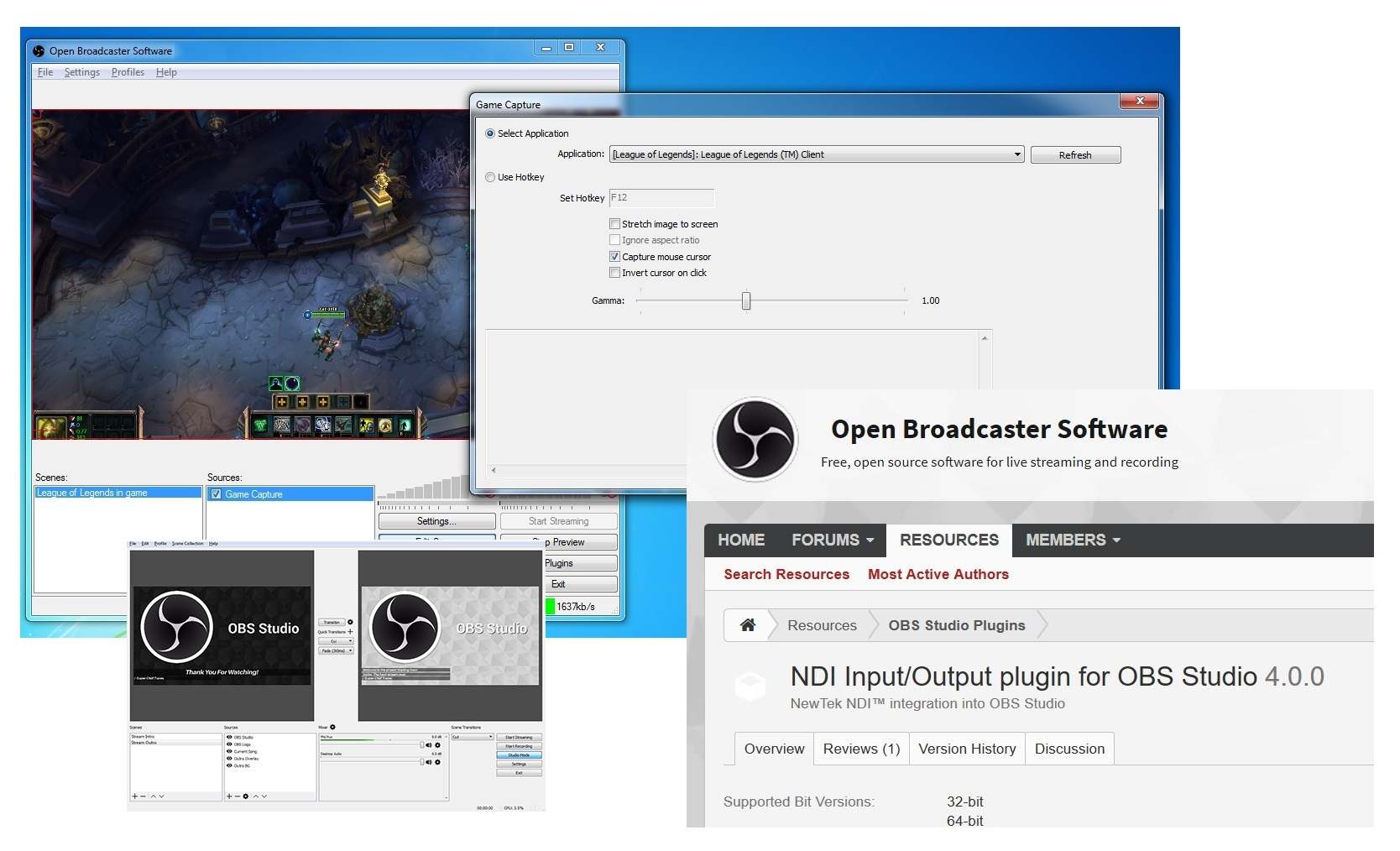 Open Broadcaster Software Adds a Few Million New Users for NDI®