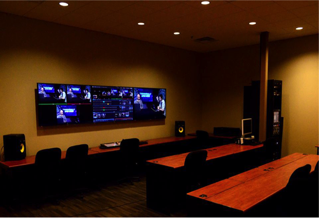 Production room at SAGU.