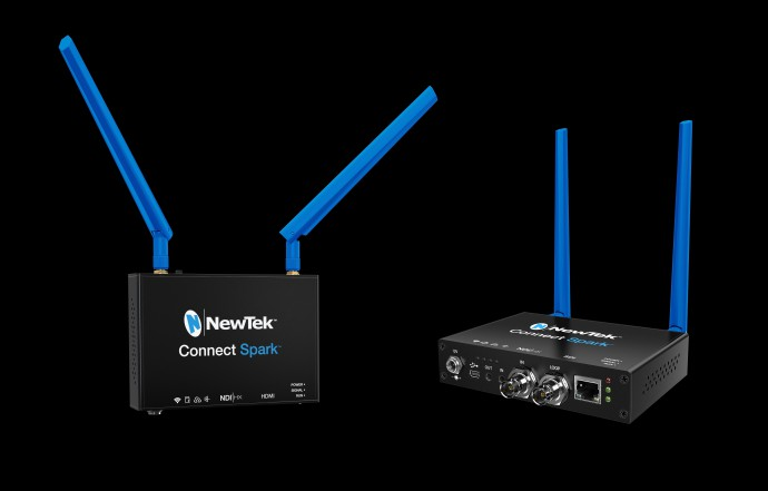 The NewTek Connect Spark, SDI version.