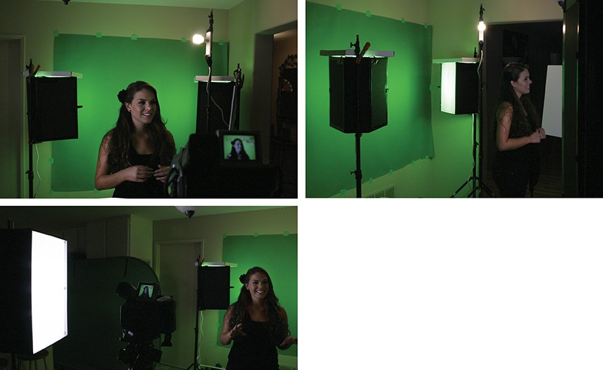 DIY Green Screen 7