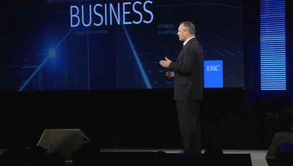 EMC World internet telecast.