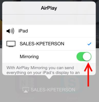 how to use airplay with tricaster